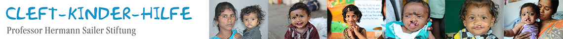 Hilfe für Kinder mit Lippen-Kiefer-Gaumenspalte (Spaltkinder) | Cleft-Kinder-Hilfe Professor Hermann Sailer Stiftung